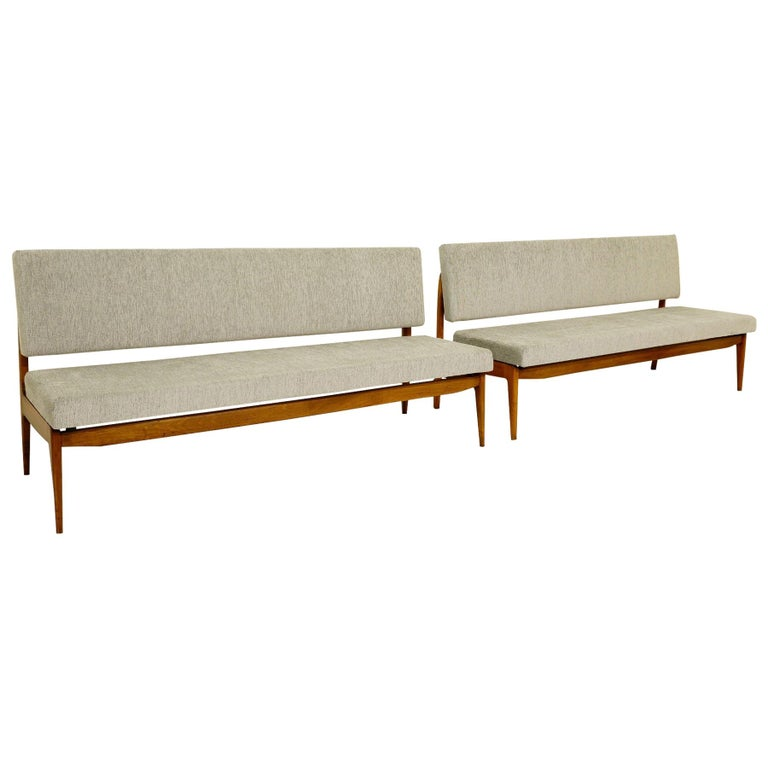 Pair of Italian Banquettes For Sale