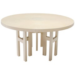 Jean Claude Dresse Exceptional Resin Dining Table