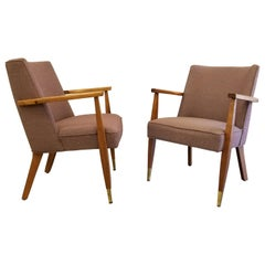 Pair Mid-Century Modern Side Chairs