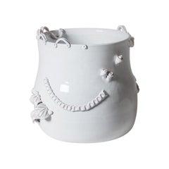 White Abundance Vase by Sam Baron celebrates the Decadent Nature of Sardinia