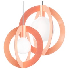 Diaradius, Contemporary Pendant Lamps, Copper