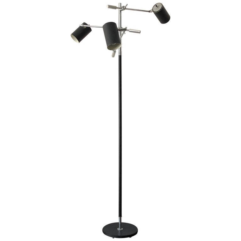 Petite Triennale Style Floor Lamp For Sale