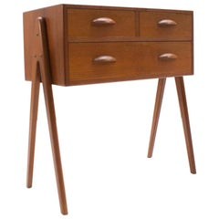 Lovely Mid-Century Moder Italian Teak Chest of Drawer by Barovero, 1960s