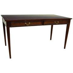 Custom Mahogany Regency Style Writing Desk by Leighton Hall