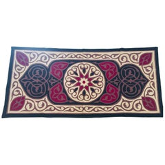 Middle Eastern Suzani Quilted Turkish Textile