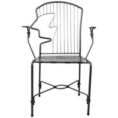 Folk Art Rebar Armchair