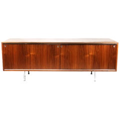 George Nelson for Herman Miller Walnut Executive Office Group Credenza #4