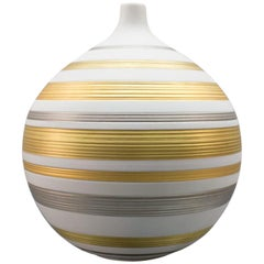 Very Noble and Elegant Vase by Hans Achtziger for Hutschenreuther AG, 1960s