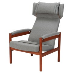 Søren Hansen Wing Chair Frtiz Hansen, 1960s