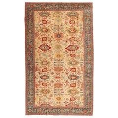 Agra Rug, Classic Design of Interlaced Branches and Flowers