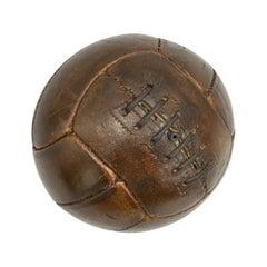 Vintage, Small Leather Football