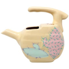 Studio Pottery Asymetrical Ceramic Watering Can