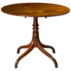 English 19th Century Regency Small Oval Table