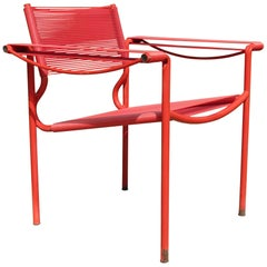 Alias Spaghetti Chair by Giandomenico Belotti Italy 1980s in Red