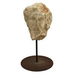 """""""Profeta"""" Mythological Stone Head Sculpture by Félix Pascua"""