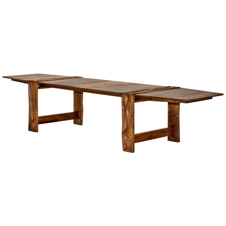 Facet Dining Table in Oiled Walnut by Davin Larkin for Wooda For Sale
