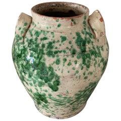 19th Century Italian Earthenware Jar