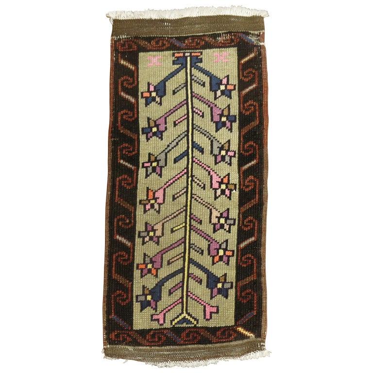 Vintage Turkish Konya Rug For Sale