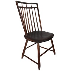 19th Century Bird Cage Windsor Chair from Pennsylvania