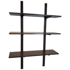 Danish Modern Rosewood Adjustable Shelves, Three Sets Available