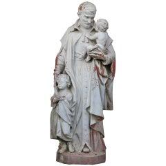 Saint Vincent de Paul Statue, France Late 19th Century