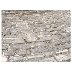 Authentic French Antique Cobblestone 17th Century, Paris, France