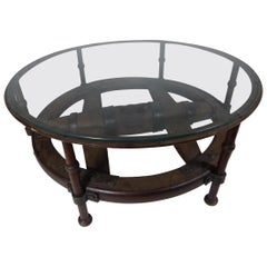 17th Century Spanish Cart-Wheel Side Table