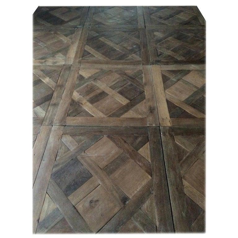 Versailles Antique Wood Oak Flooring 'Panels', Paris, France For Sale