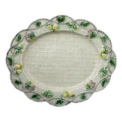 English Pottery Whieldon Type Oval Dish Made in the Mid-18th Century