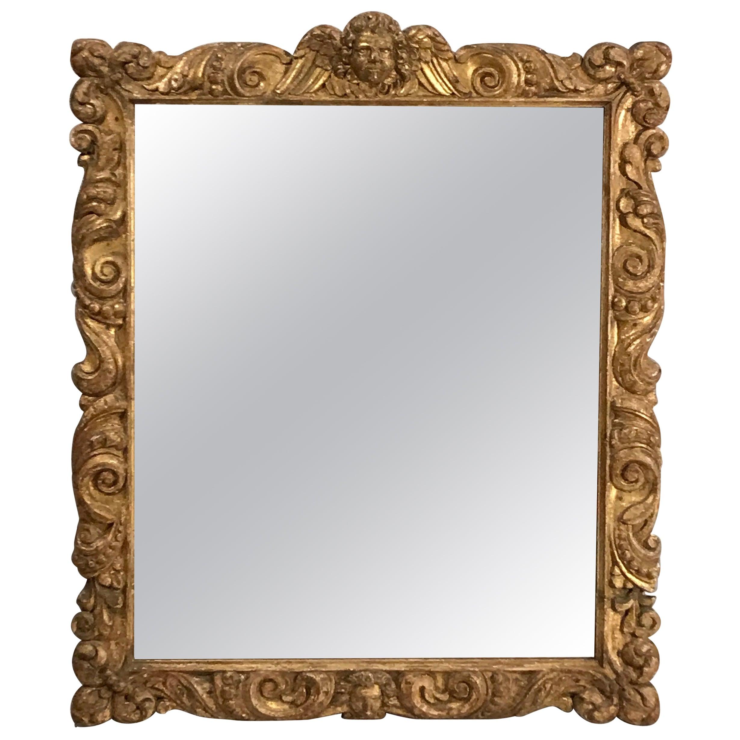 Baroque Mirror, France, 18th Century