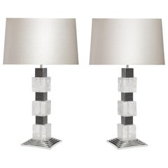Deco Style Rock Crystal Lamps by Phoenix