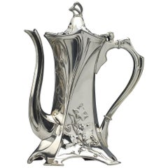 WMF Württembergische Metallwarenfabrik Serveware, Ceramics, Silver and Glass