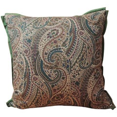 Vintage Cotton Printed Paisley Decorative Pillow