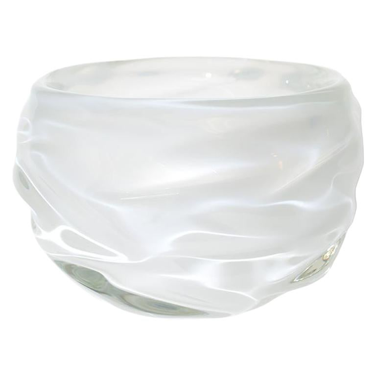 Decorative Glass Bowl Alabaster Happy Bowl By Siemon Salazar In Stock