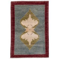 Colorful Turkish Sivas Design Rug