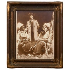 Original Buffalo Bill Cody, Chief Red Cloud, American Horse Photograph