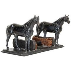 19th Century Cast Iron Horse Boot Scraper