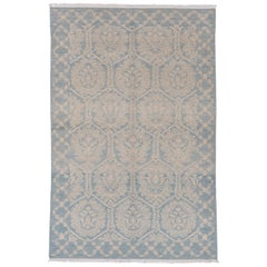Light Blue Spanish Cuenca Carpet