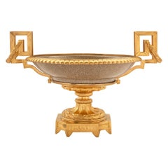 Chinese Porcelain and French Louis XVI Style Ormolu Mounted Centerpiece
