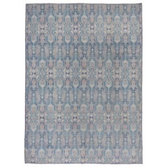 Hand Knotted Modern Contemporary Afghan Carpet