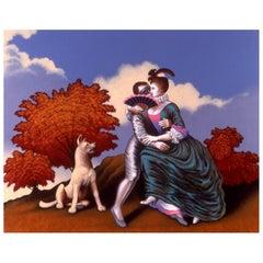 Liaisons III, Original Painting Lynn Curlee