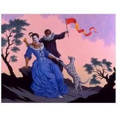 Liaisons VIII, Original Painting Lynn Curlee