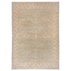 Light Blue Sivas Style Carpet