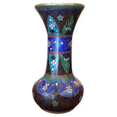 20th Century Japanese Cloisonne Vase