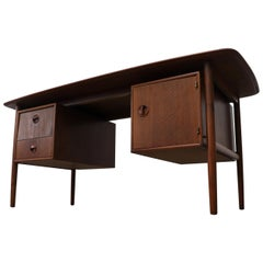William Watting Teak Desk