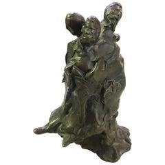 Joyce Treiman Rare Bronze Sculpture
