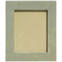 Beautiful Sage Shagreen Picture Frame