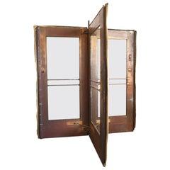 Van Kannel Brass Revolving Door Unit