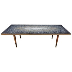 Midcentury Mosaic Coffee Table by Genaro Alvarez