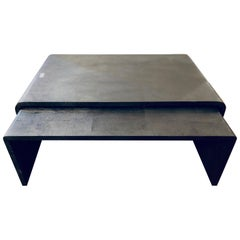 Ralph Lauren One Fifth Nesting Cocktail Coffee Tables Art Deco Style